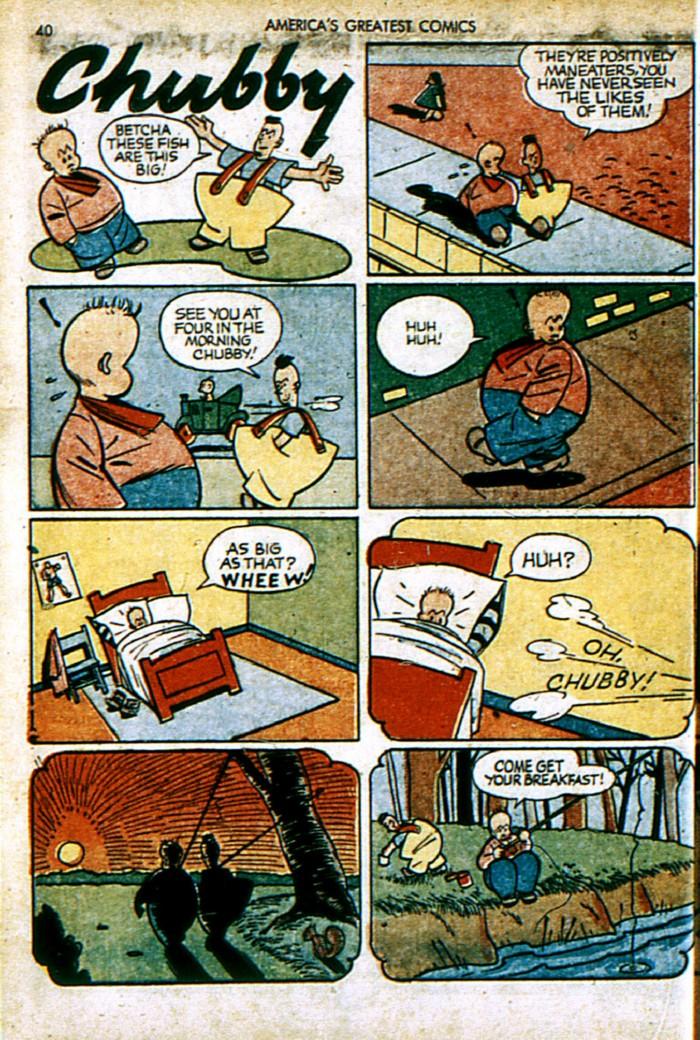 Read online America's Greatest Comics comic -  Issue #4 - 40