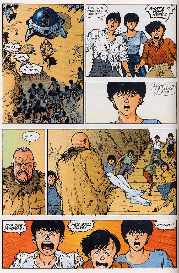 Read online Akira comic -  Issue #24 - 26