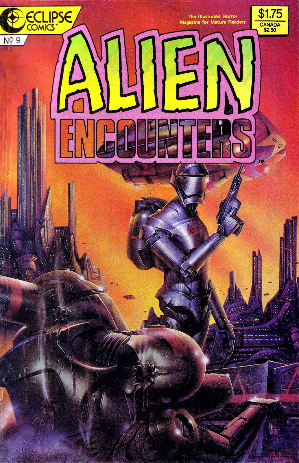 Alien Encounters 9 Page 1