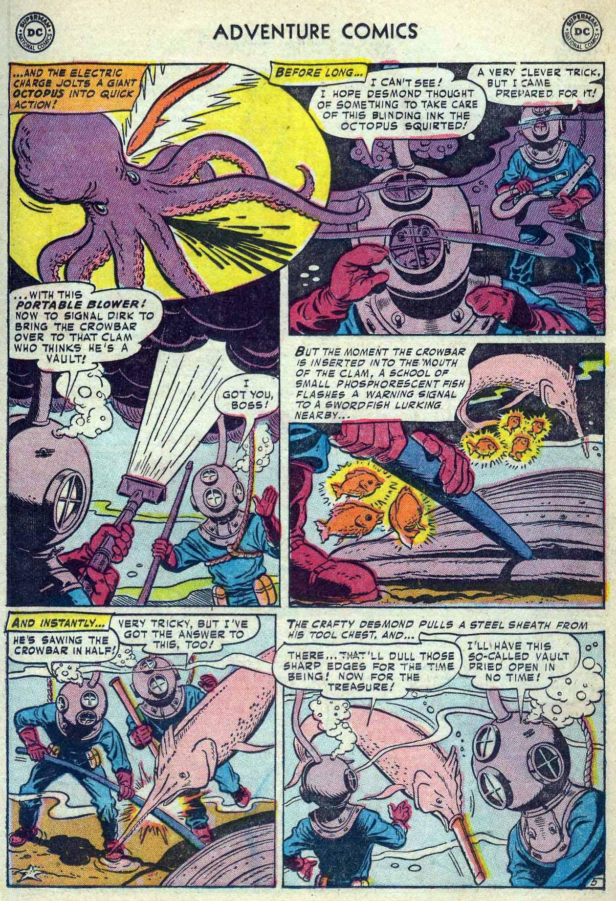 Read online Adventure Comics (1938) comic -  Issue #180 - 21