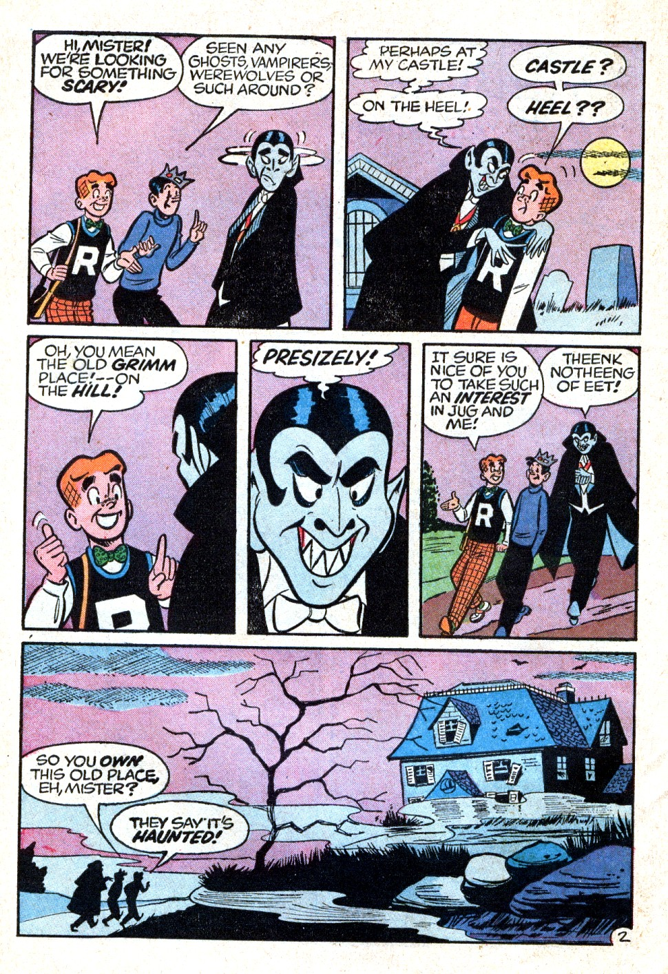 Read online Archie (1960) comic -  Issue #123 - 30