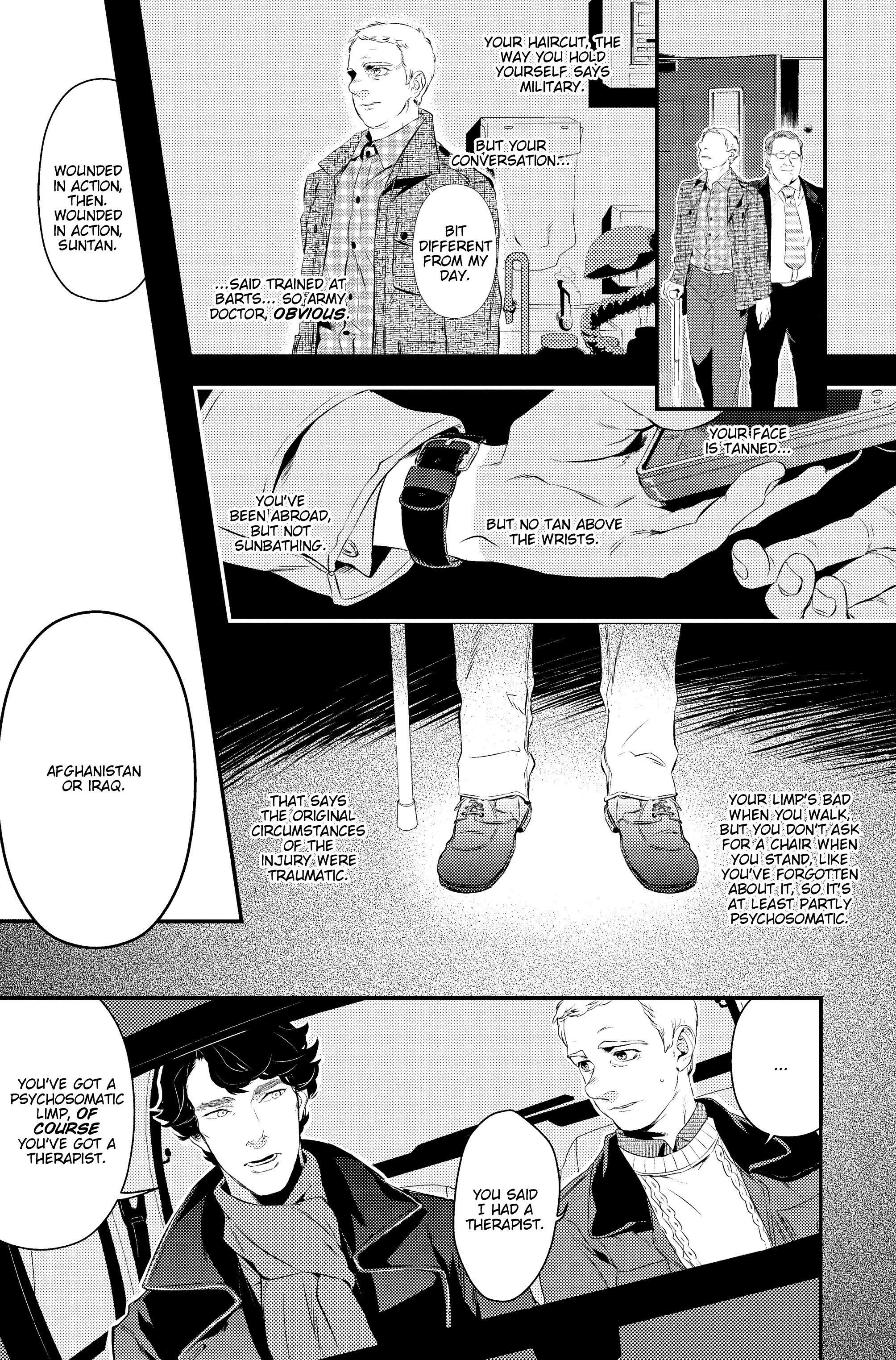 Read online Sherlock: A Study In Pink comic -  Issue #2 - 10