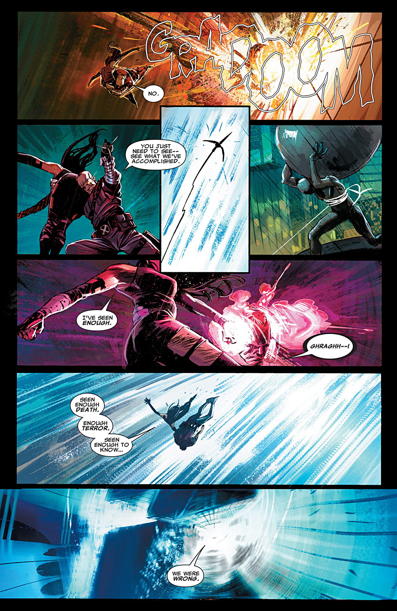 Read online Uncanny X-Force (2010) comic -  Issue #29 - 8