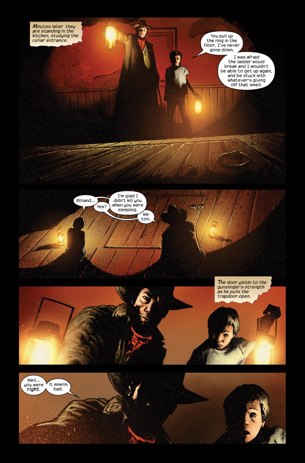 Read online Dark Tower: The Gunslinger - The Way Station comic -  Issue #3 - 12