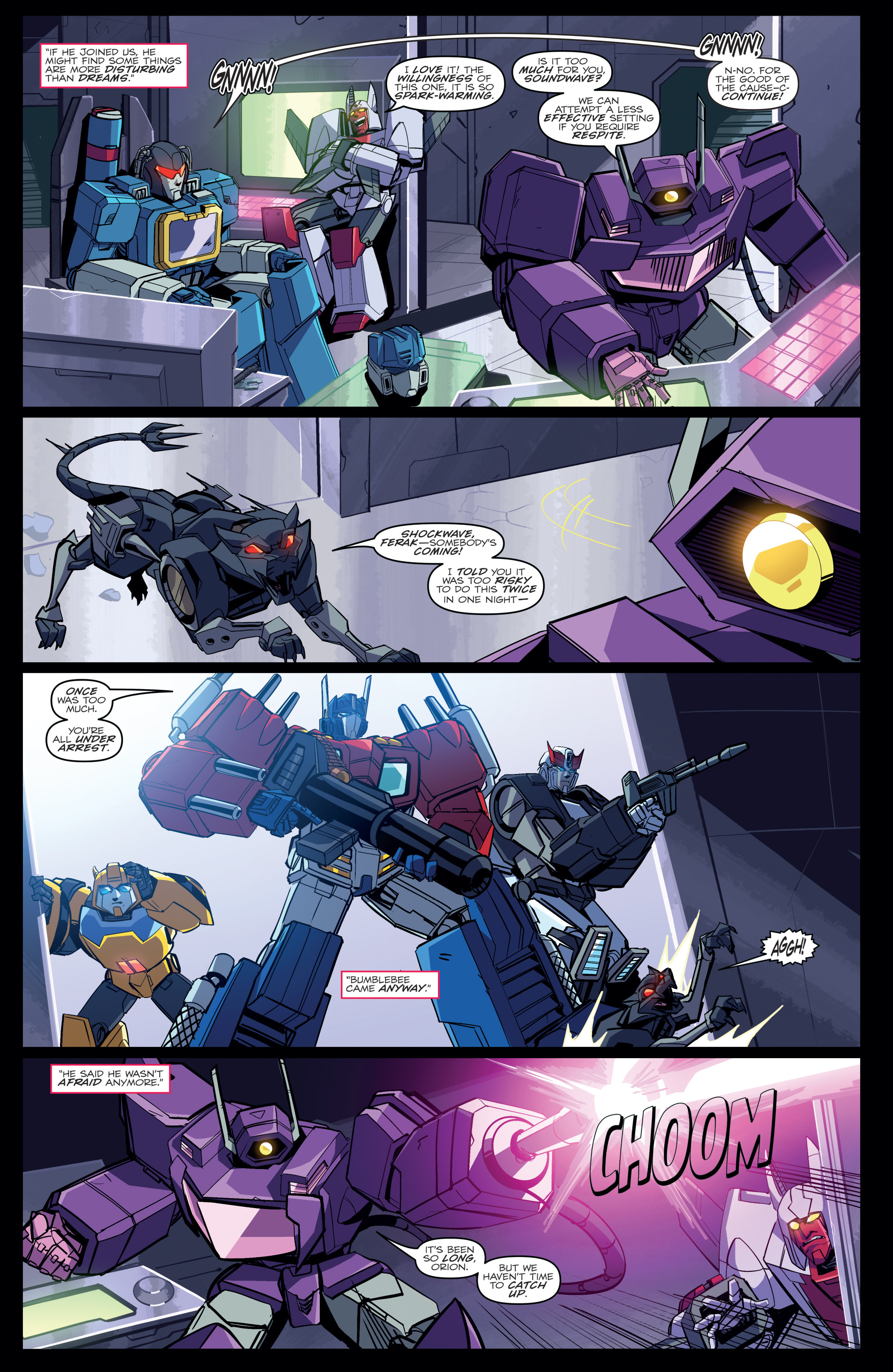 Read online Transformers Annual comic -  Issue # Full - 18