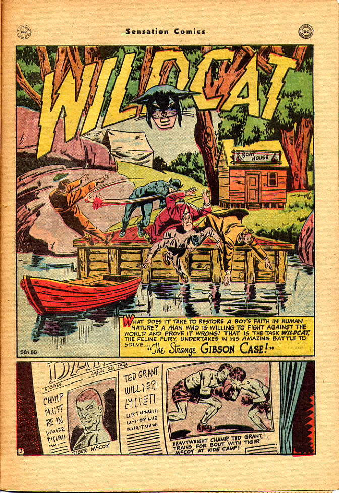 Read online Sensation (Mystery) Comics comic -  Issue #83 - 43