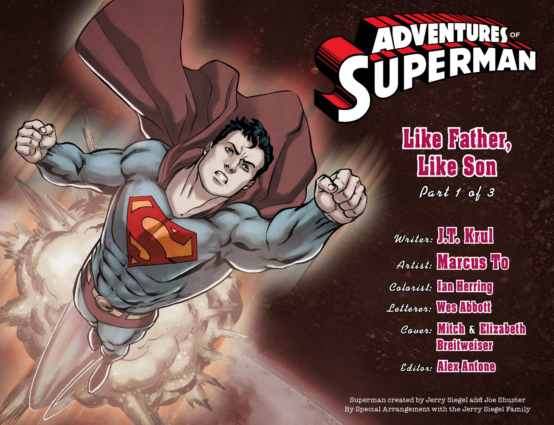 Read online Adventures of Superman [I] comic -  Issue #16 - 2