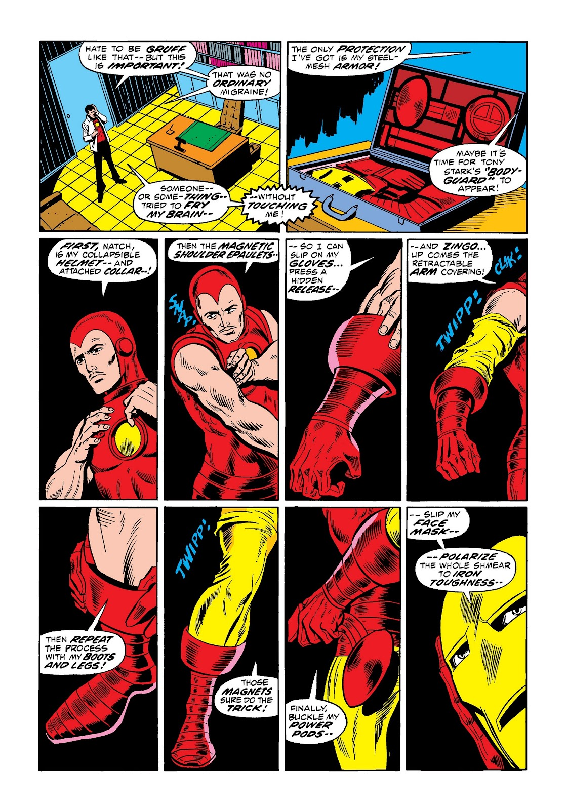 Read online Marvel Masterworks: The Invincible Iron Man comic -  Issue # TPB 9 (Part 1) - 34