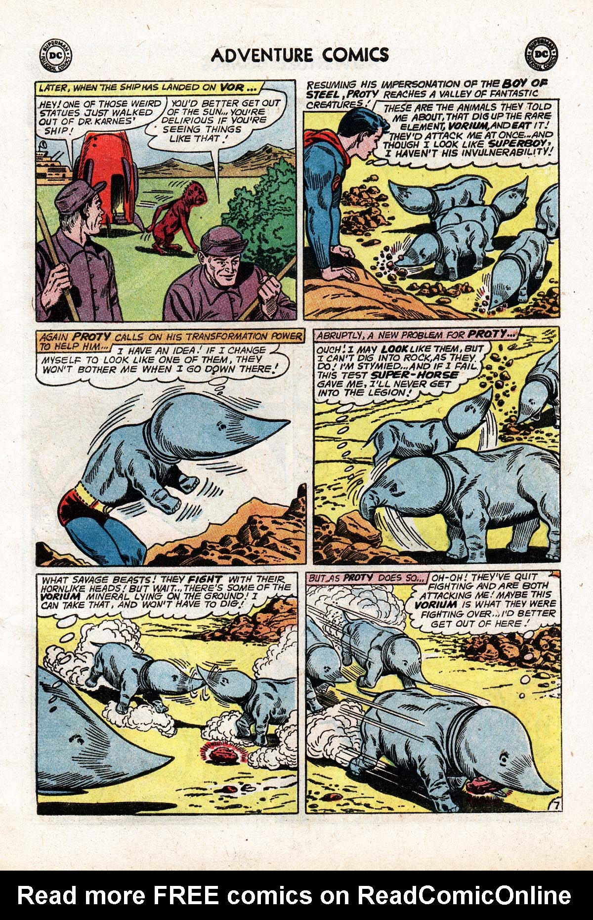 Read online Adventure Comics (1938) comic -  Issue #322 - 9