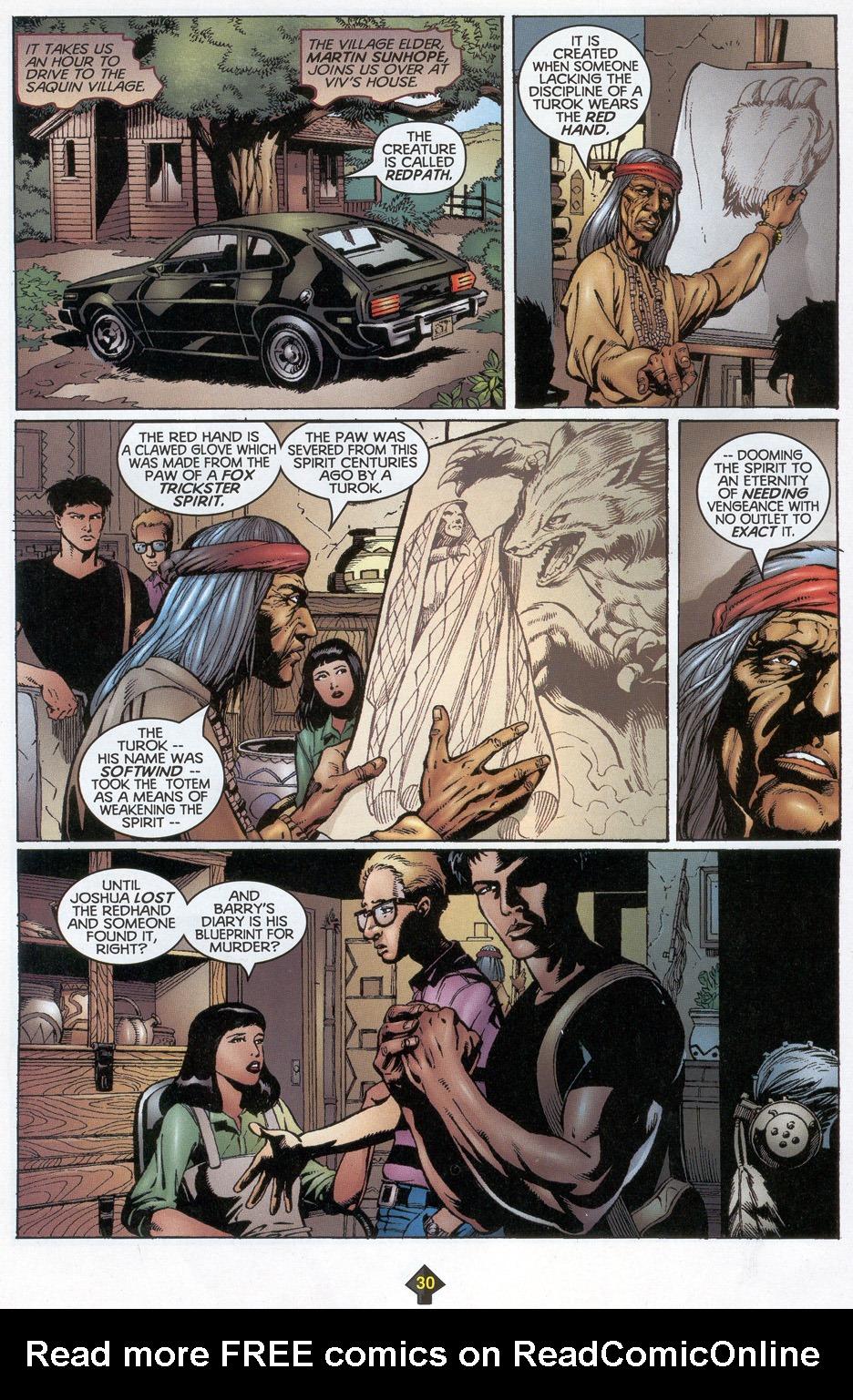 Read online Turok: Redpath comic -  Issue # Full - 29