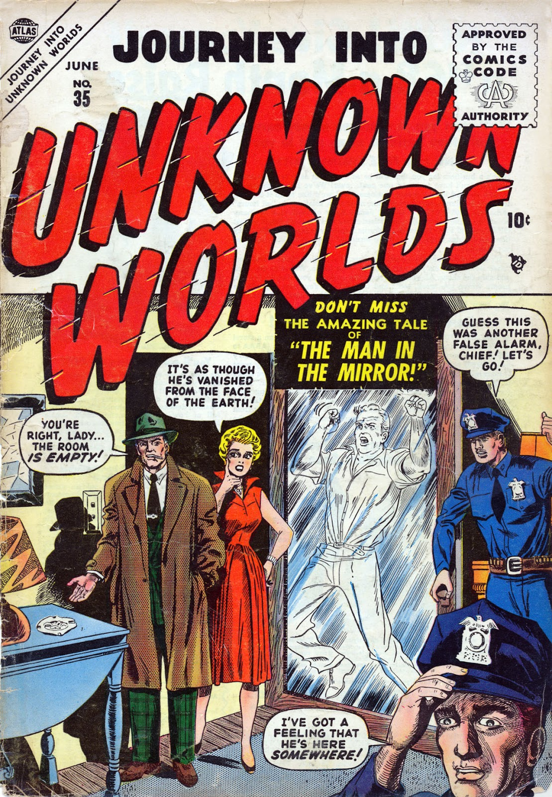Journey Into Unknown Worlds (1950) issue 35 - Page 1