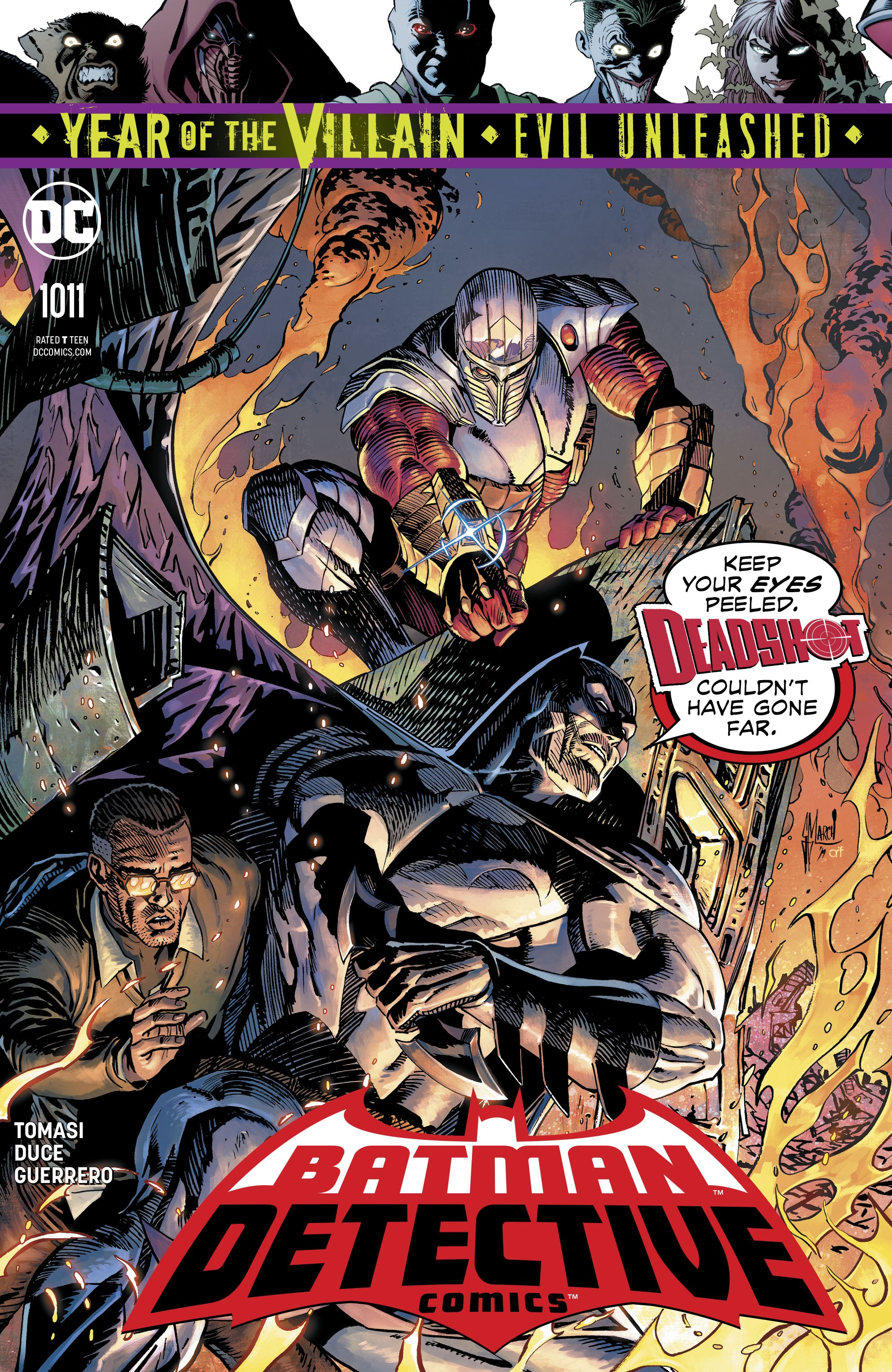 Detective Comics (2016) 1011 Page 1