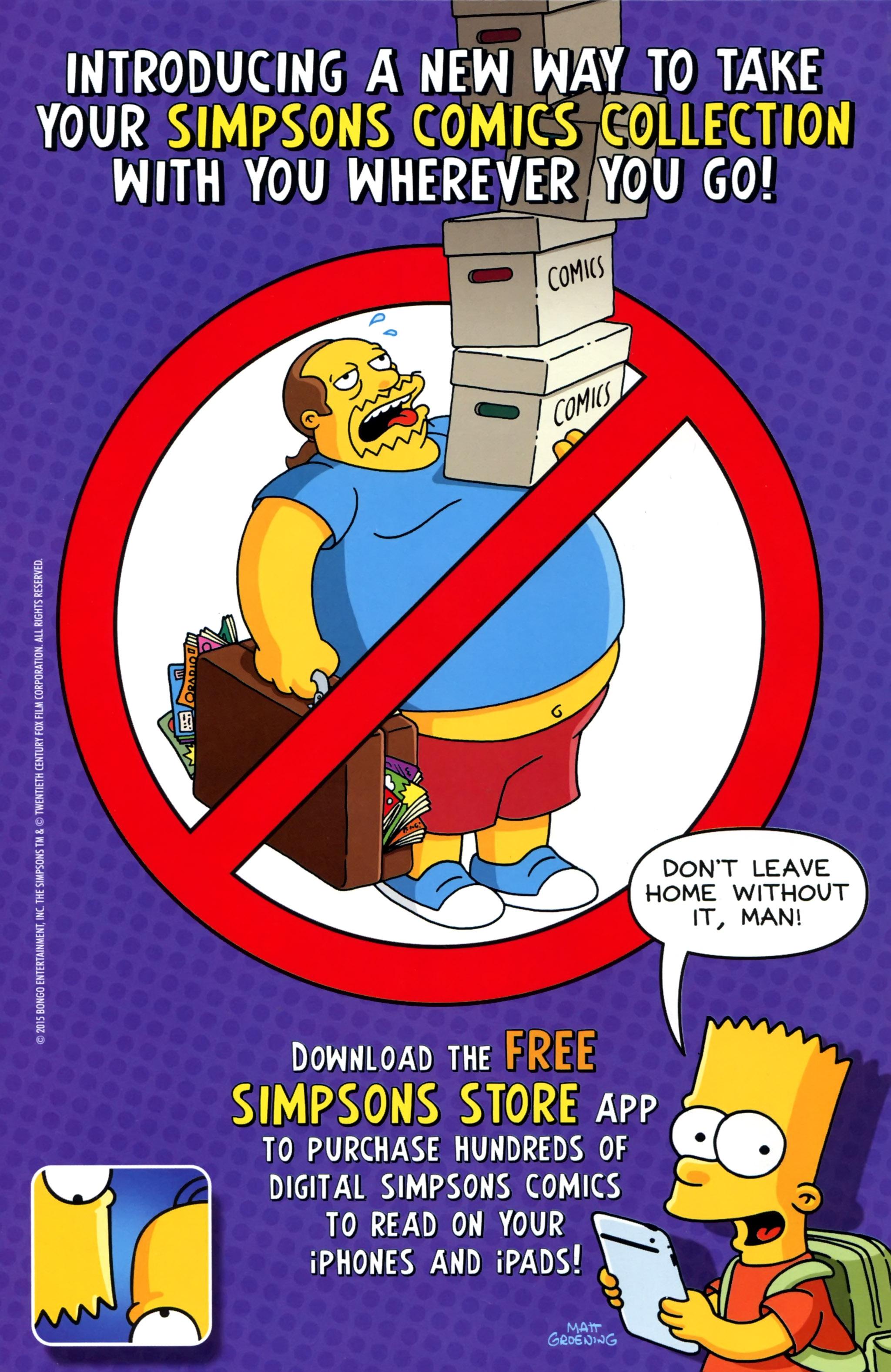 Read online Simpsons Comics comic -  Issue #223 - 2