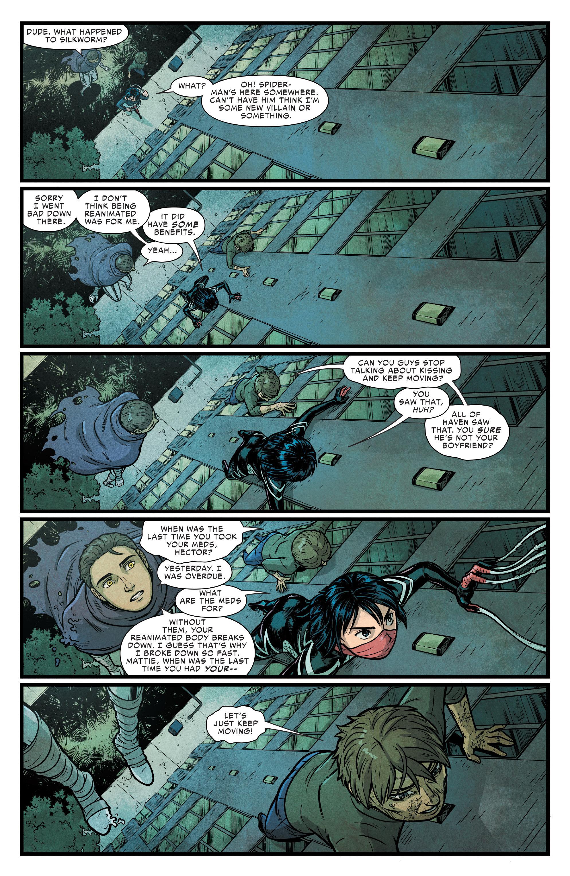Read online Silk (2016) comic -  Issue #17 - 12