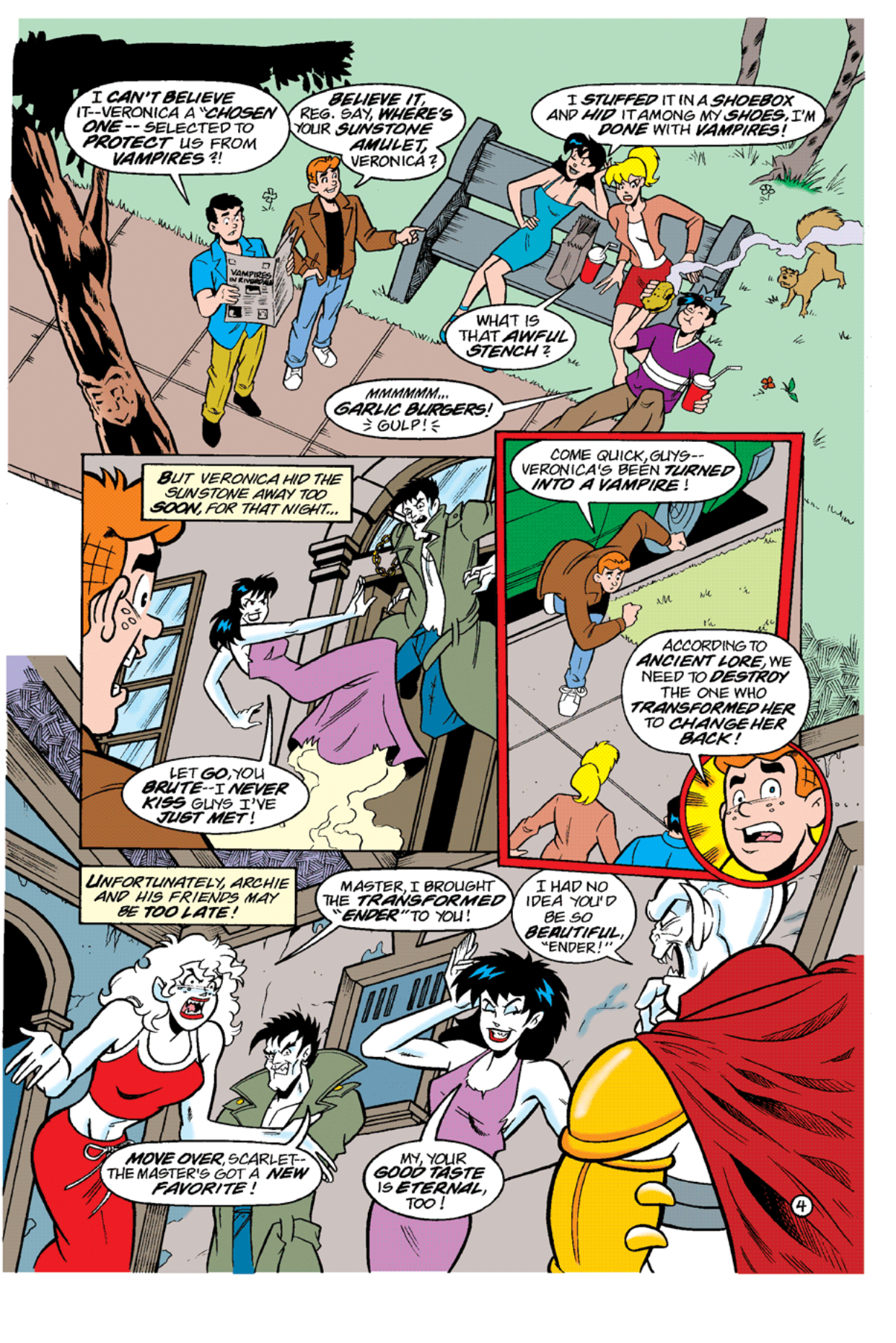 Read online Archie's Weird Mysteries comic -  Issue #10 - 22
