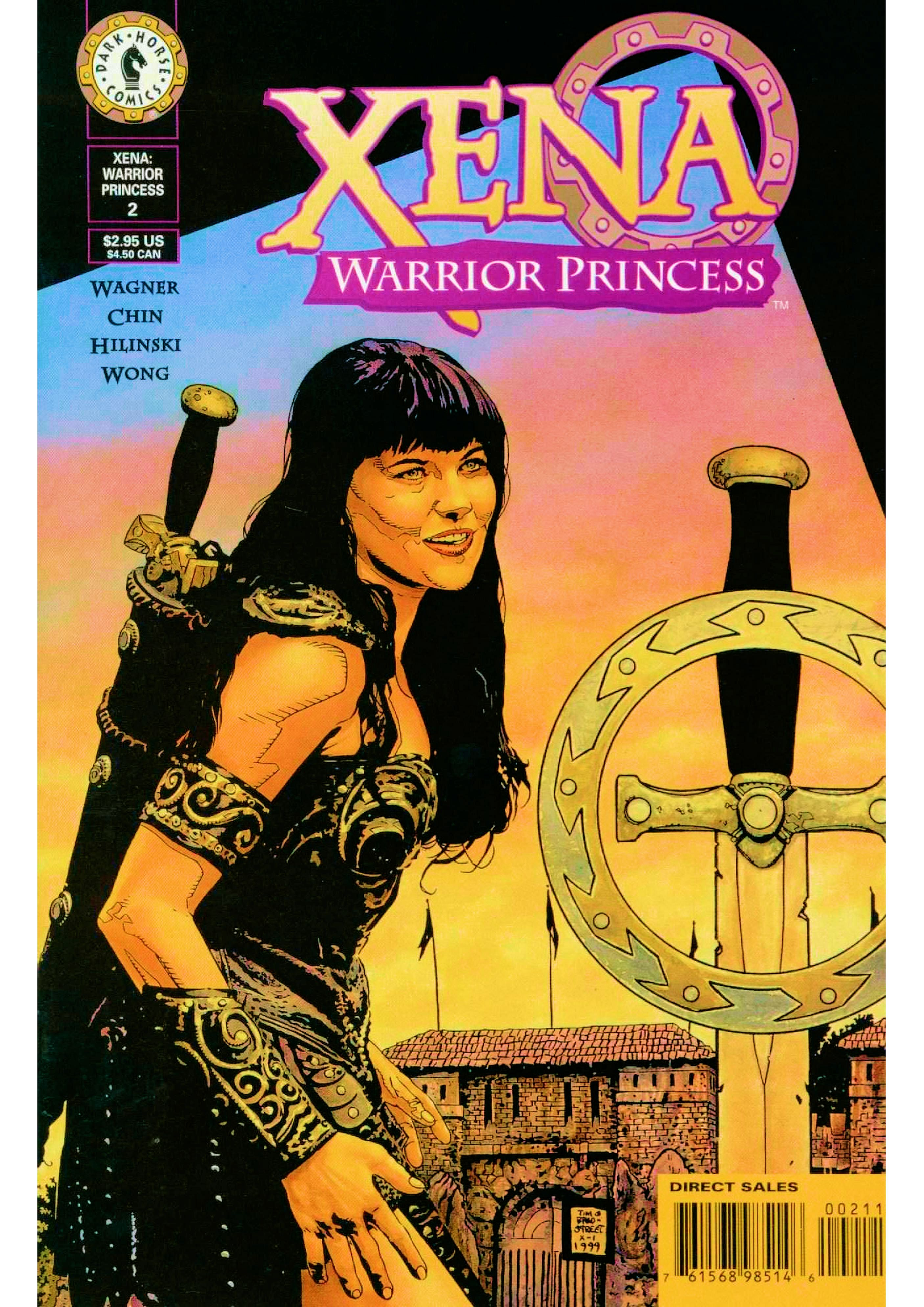 Read online Xena: Warrior Princess (1999) comic -  Issue #2 - 2