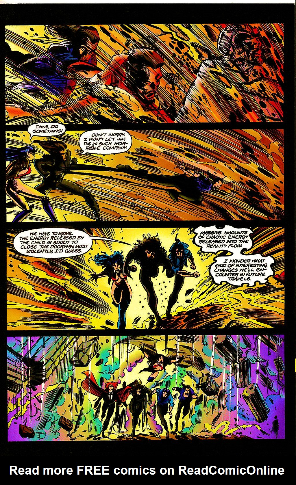 Read online Chains of Chaos comic -  Issue #3 - 29