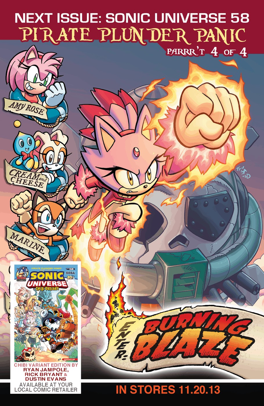 Read online Sonic Universe comic -  Issue #57 - 25