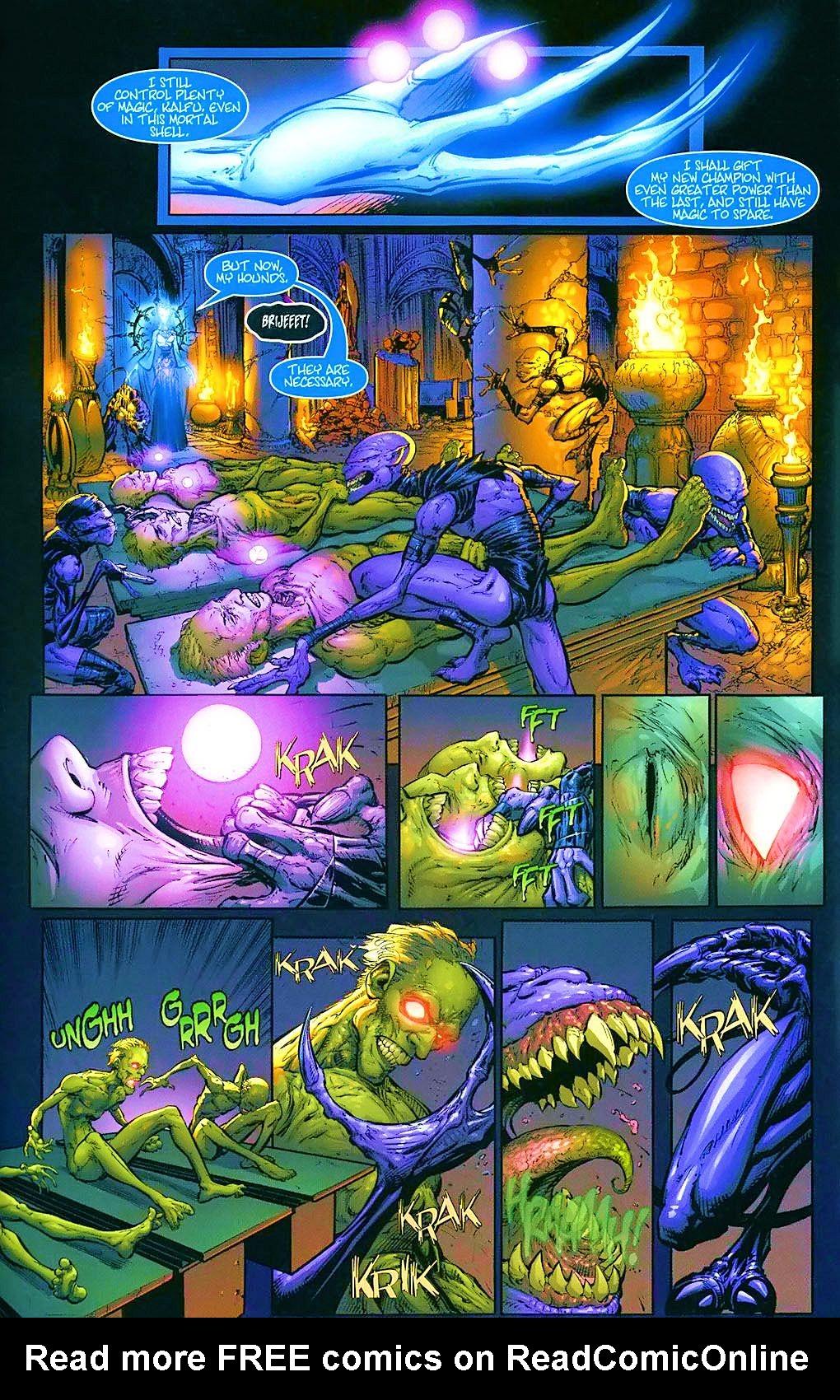 Read online Wraithborn comic -  Issue #4 - 7