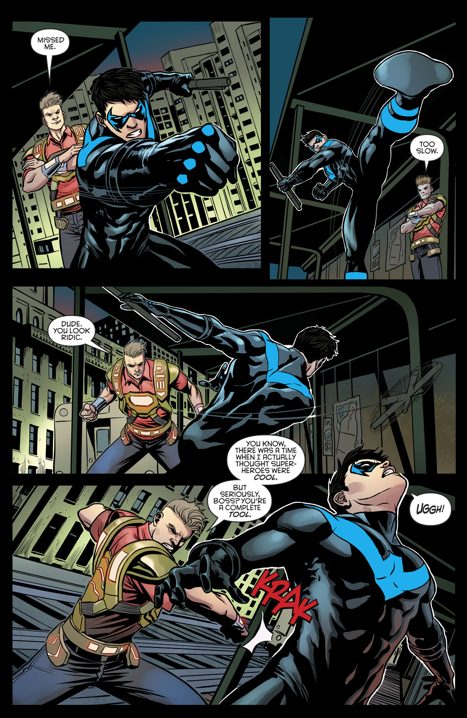 Read online Nightwing (2016) comic -  Issue #21 - 15