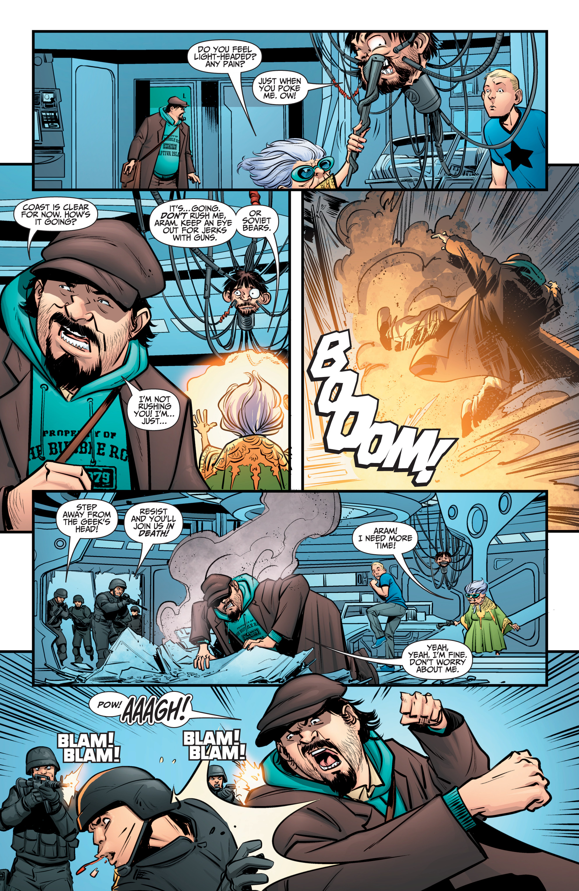 Read online A&A: The Adventures of Archer & Armstrong comic -  Issue #12 - 5