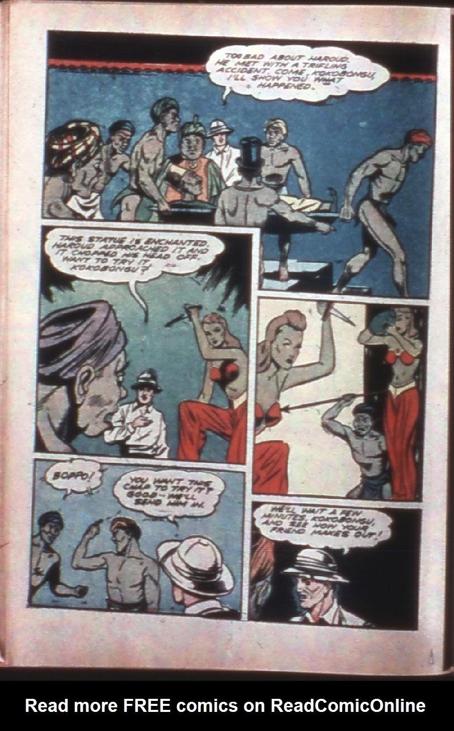 Read online Super-Magician Comics comic -  Issue #7 - 28