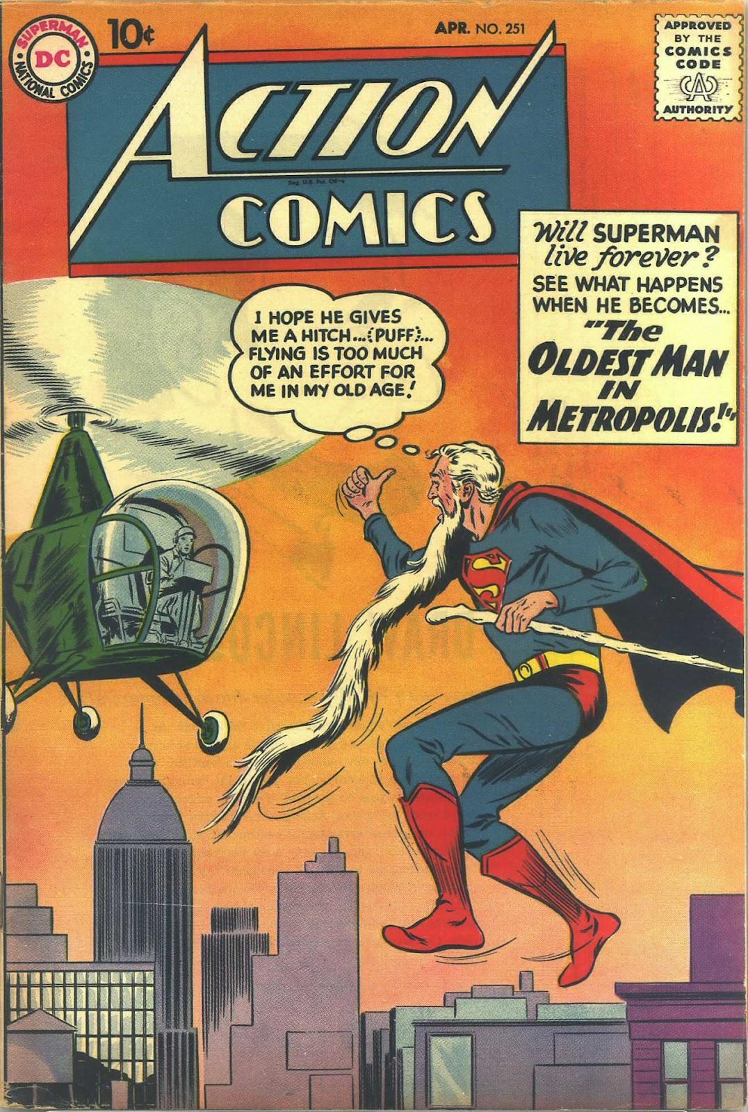 Action Comics (1938) 251 Page 1