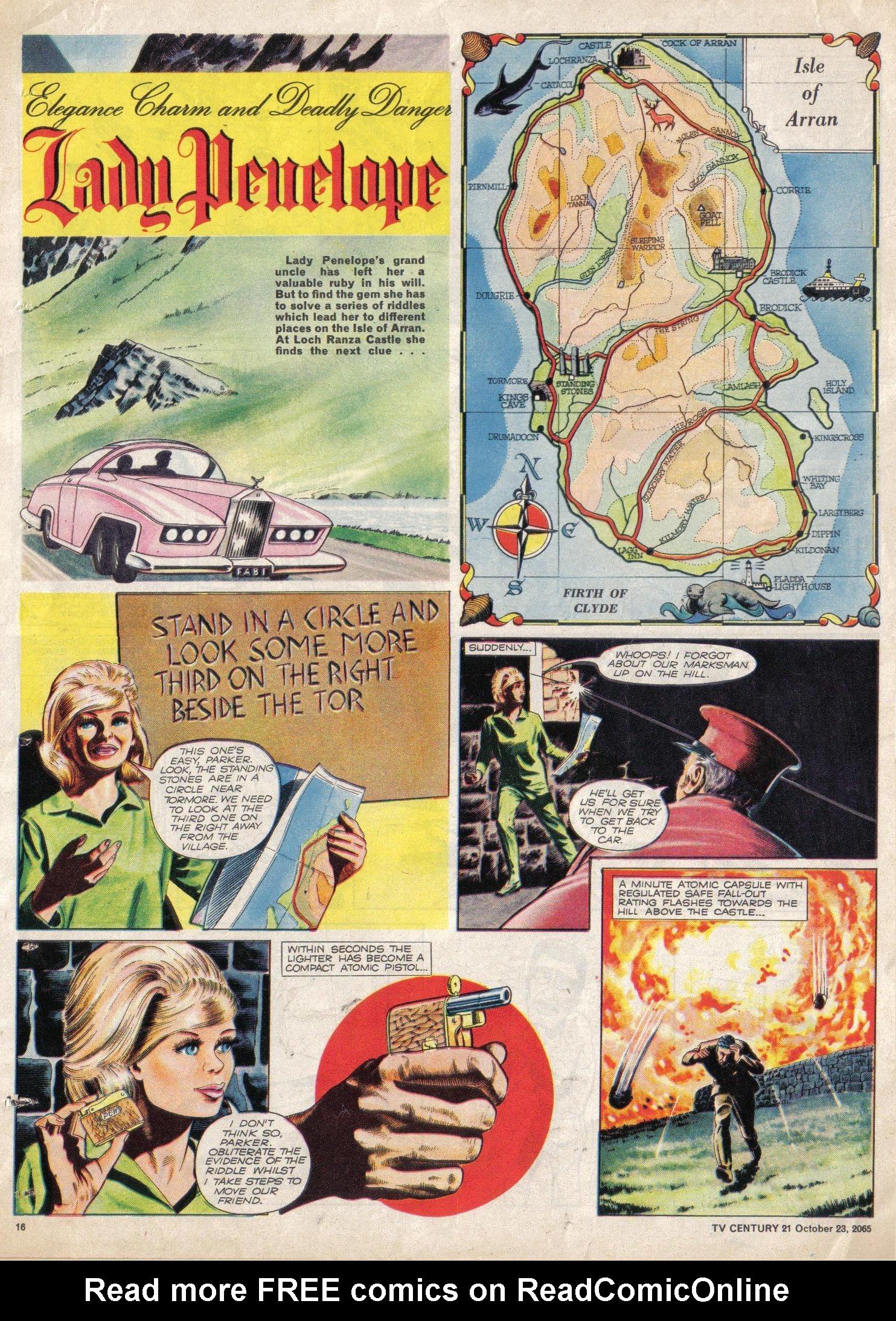 Read online TV Century 21 (TV 21) comic -  Issue #40 - 15