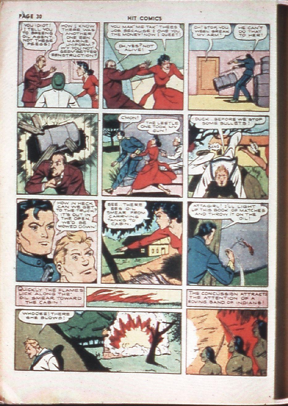 Read online Hit Comics comic -  Issue #10 - 32