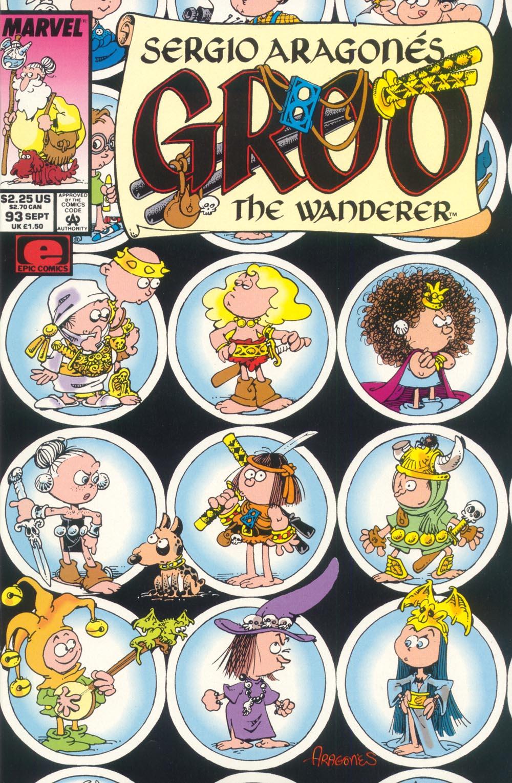 Read online Sergio Aragonés Groo the Wanderer comic -  Issue #93 - 1