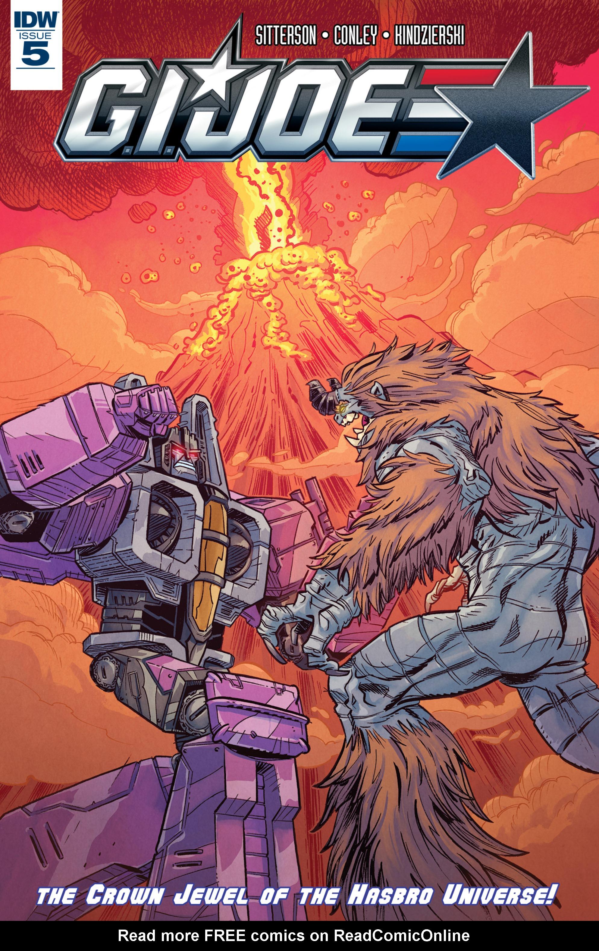 Read online G.I. Joe (2016) comic -  Issue #5 - 1
