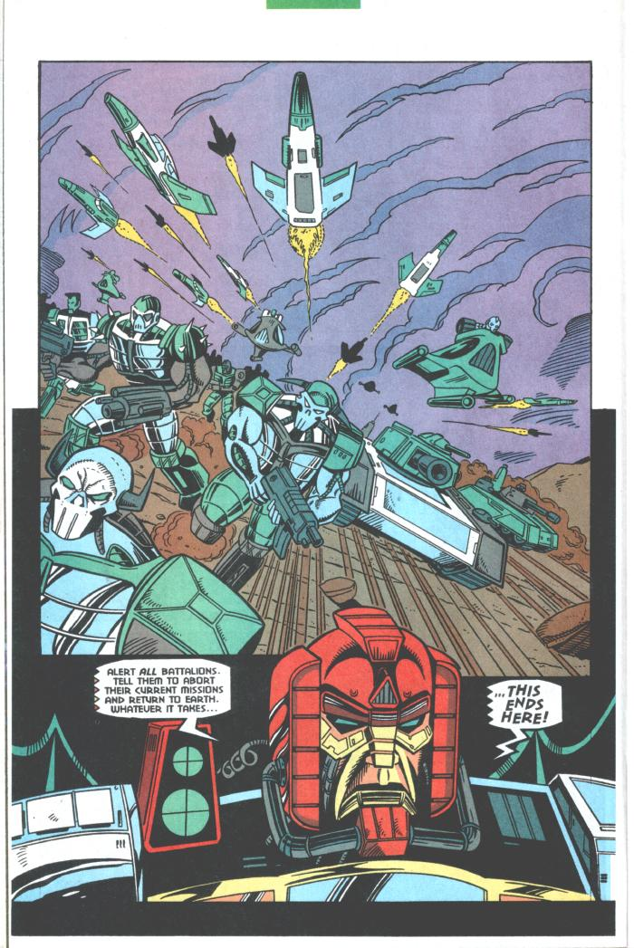 Read online Transformers: Generation 2 comic -  Issue #10 - 11