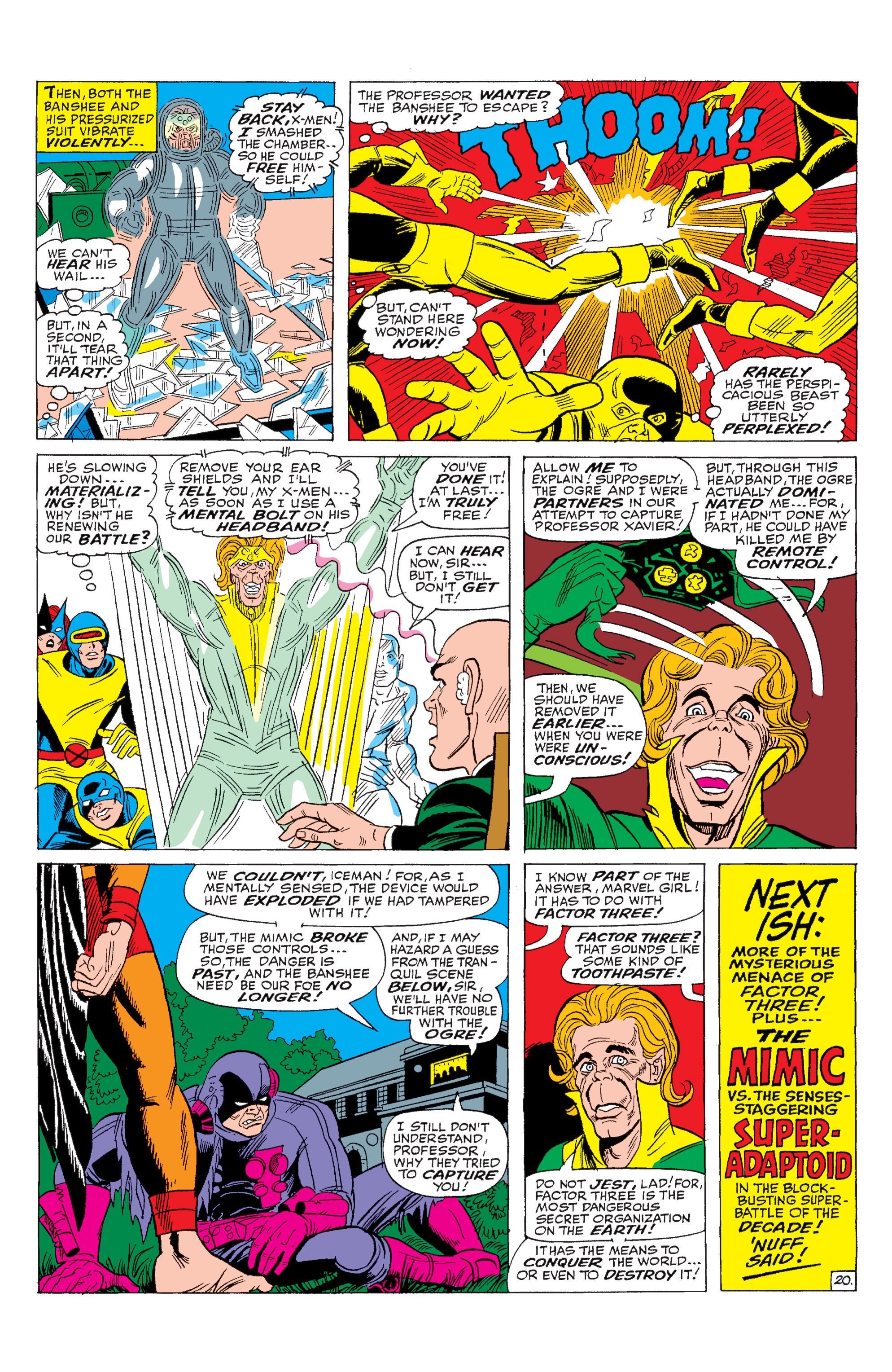 Read online Uncanny X-Men (1963) comic -  Issue #28 - 21