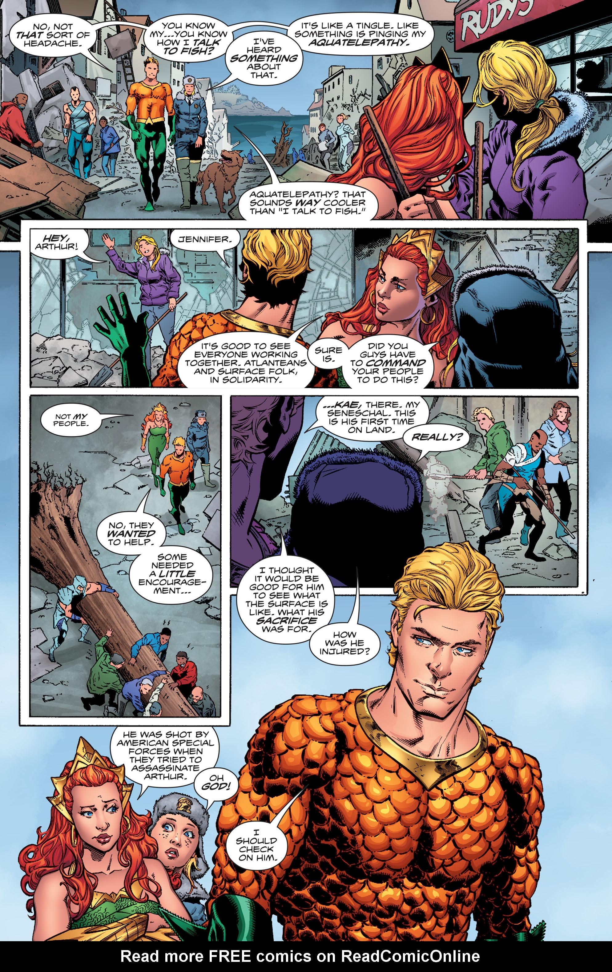Read online Aquaman (2016) comic -  Issue #16 - 9