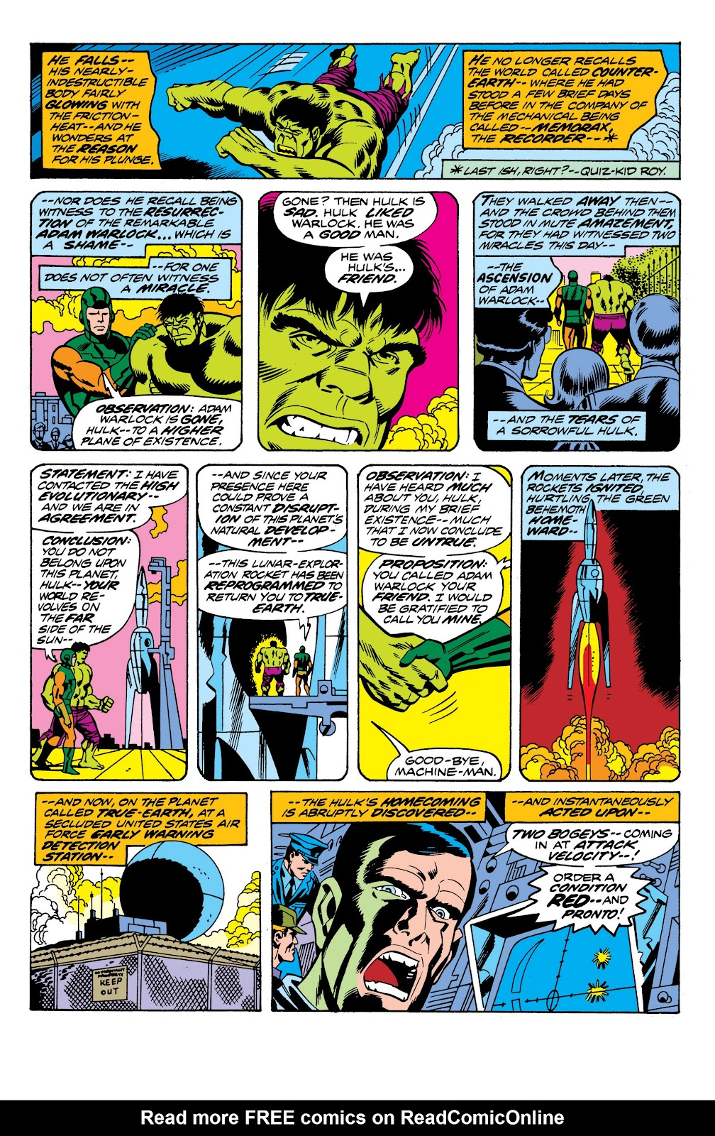 Read online Marvel Masterworks: The Incredible Hulk comic -  Issue # TPB 10 (Part 2) - 68