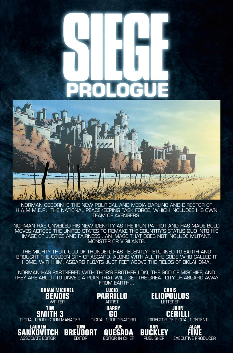 Read online Siege Prologue comic -  Issue # Full - 2