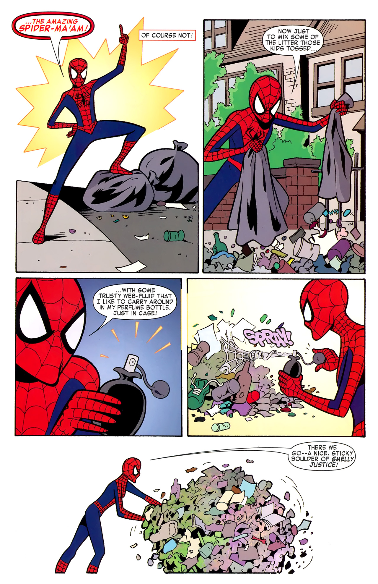 Read online Amazing Spider-Man Family comic -  Issue #6 - 44