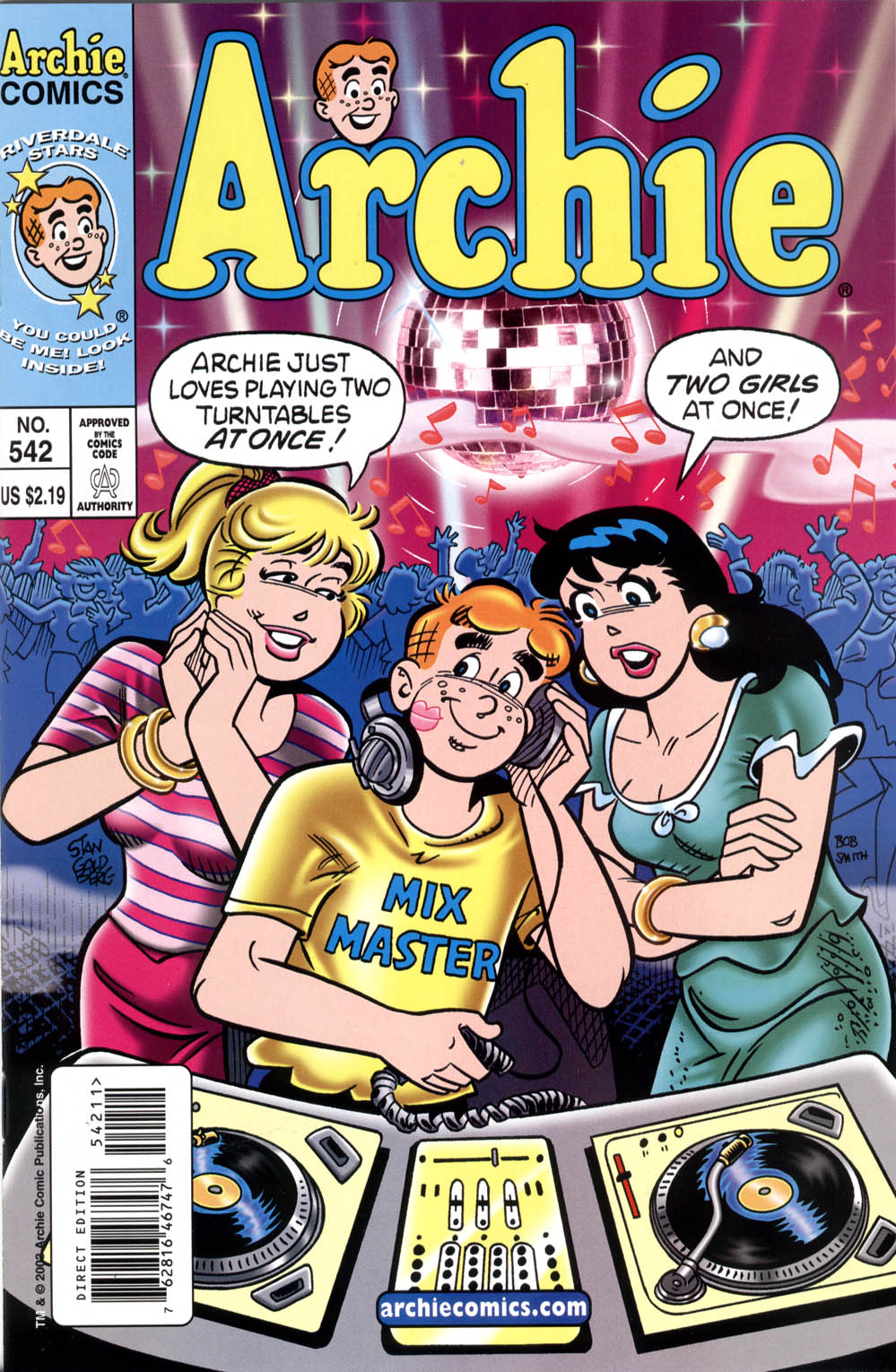 Read online Archie (1960) comic -  Issue #542 - 1