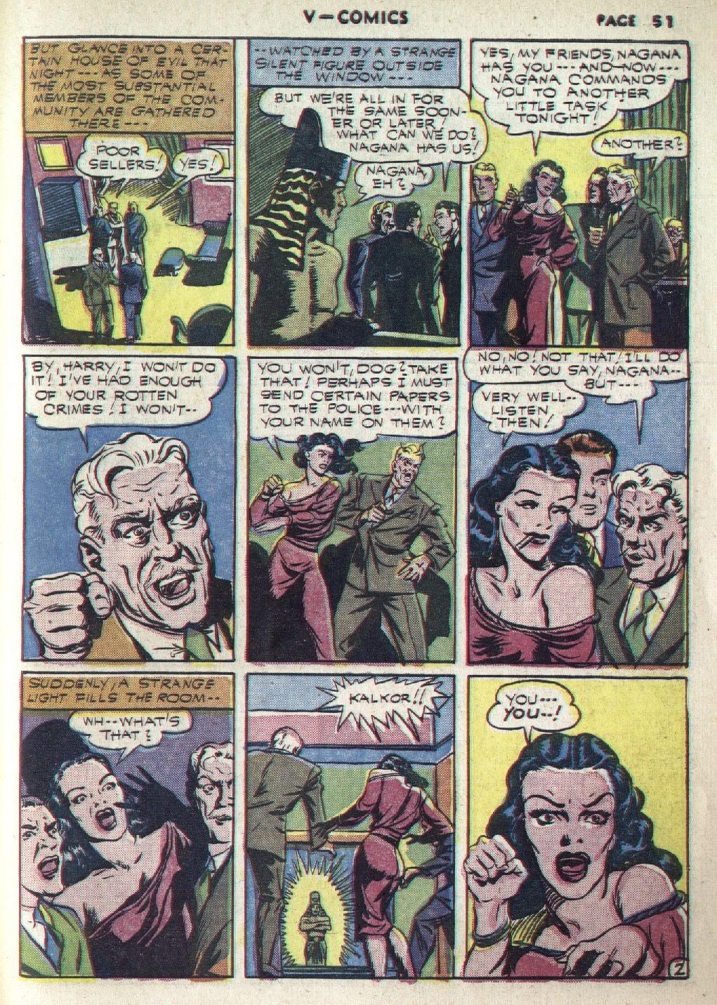 Read online V...- Comics comic -  Issue #1 - 52