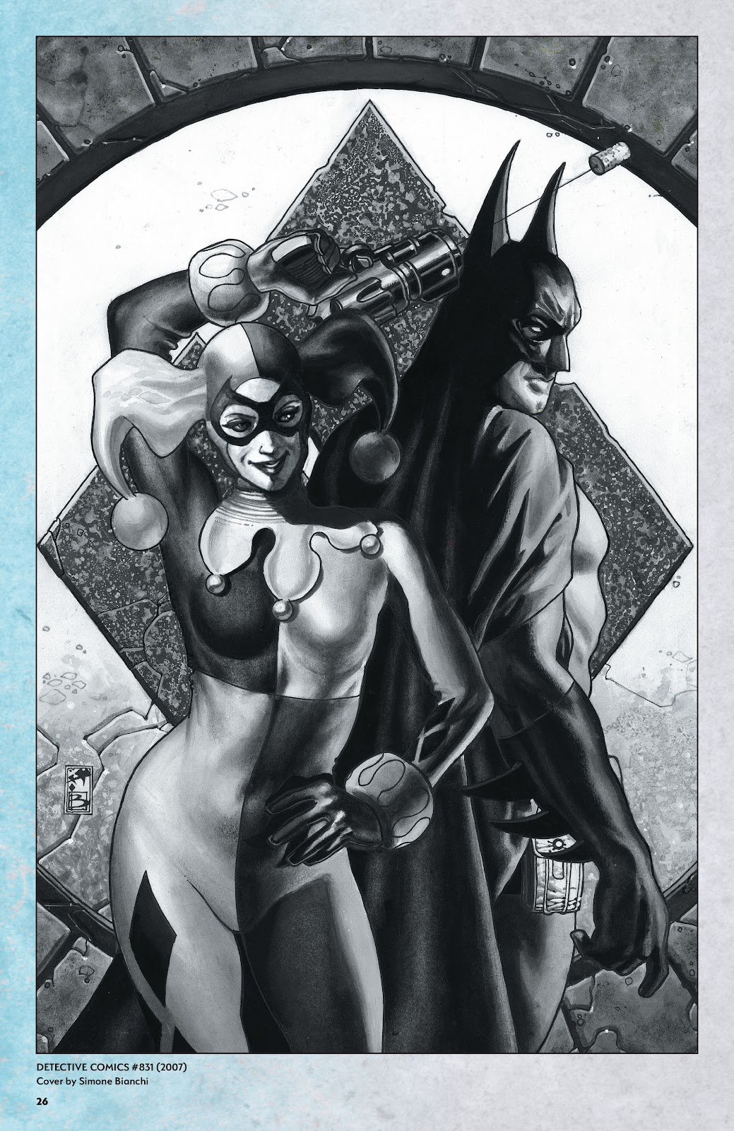 Read online Harley Quinn: A Rogue's Gallery―The Deluxe Cover Art Collection comic -  Issue # TPB (Part 1) - 25