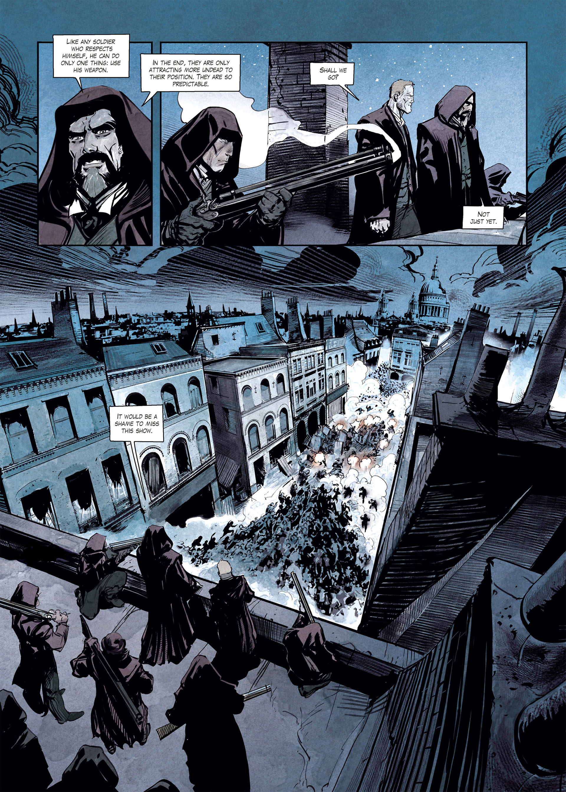 Read online Sherlock Holmes Society Tome 4 : Contamination comic -  Issue # Full - 5