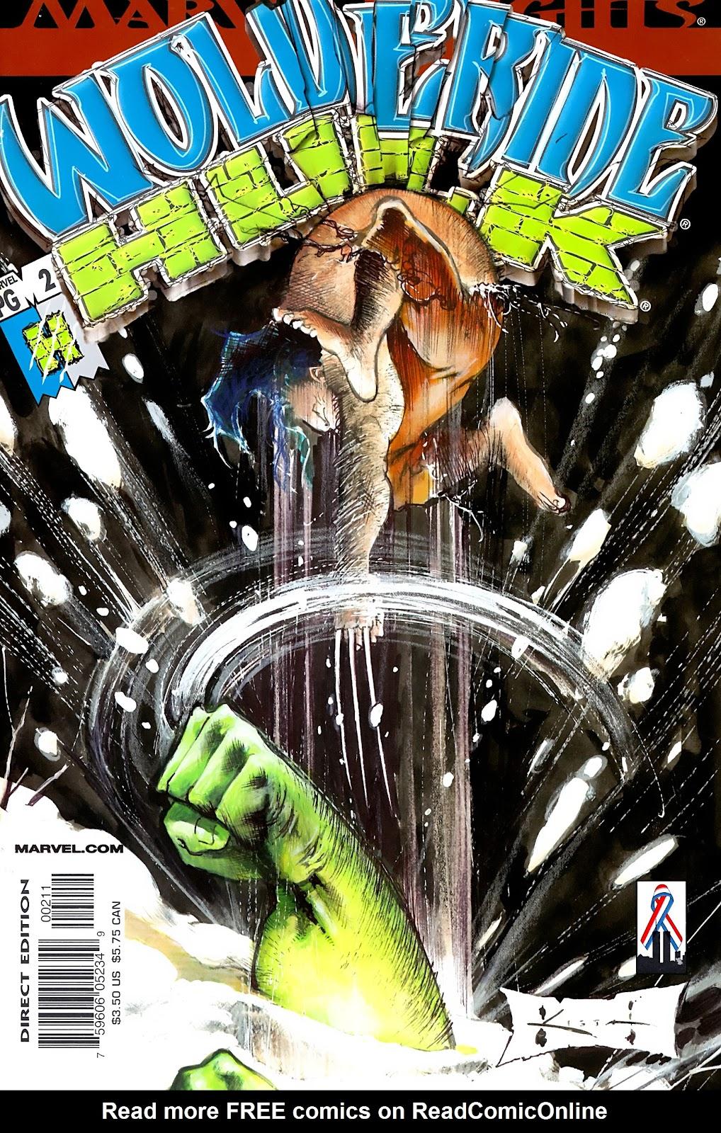 Wolverine/Hulk 2 Page 1