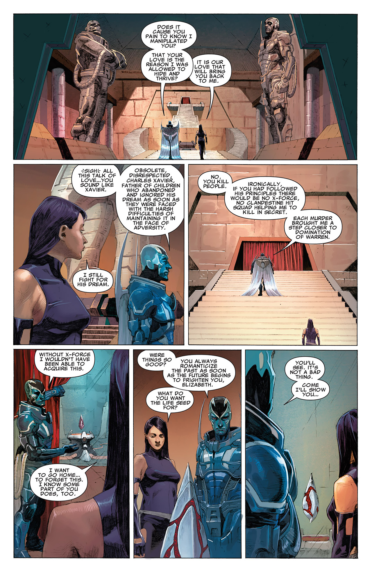 Read online Uncanny X-Force (2010) comic -  Issue #16 - 11