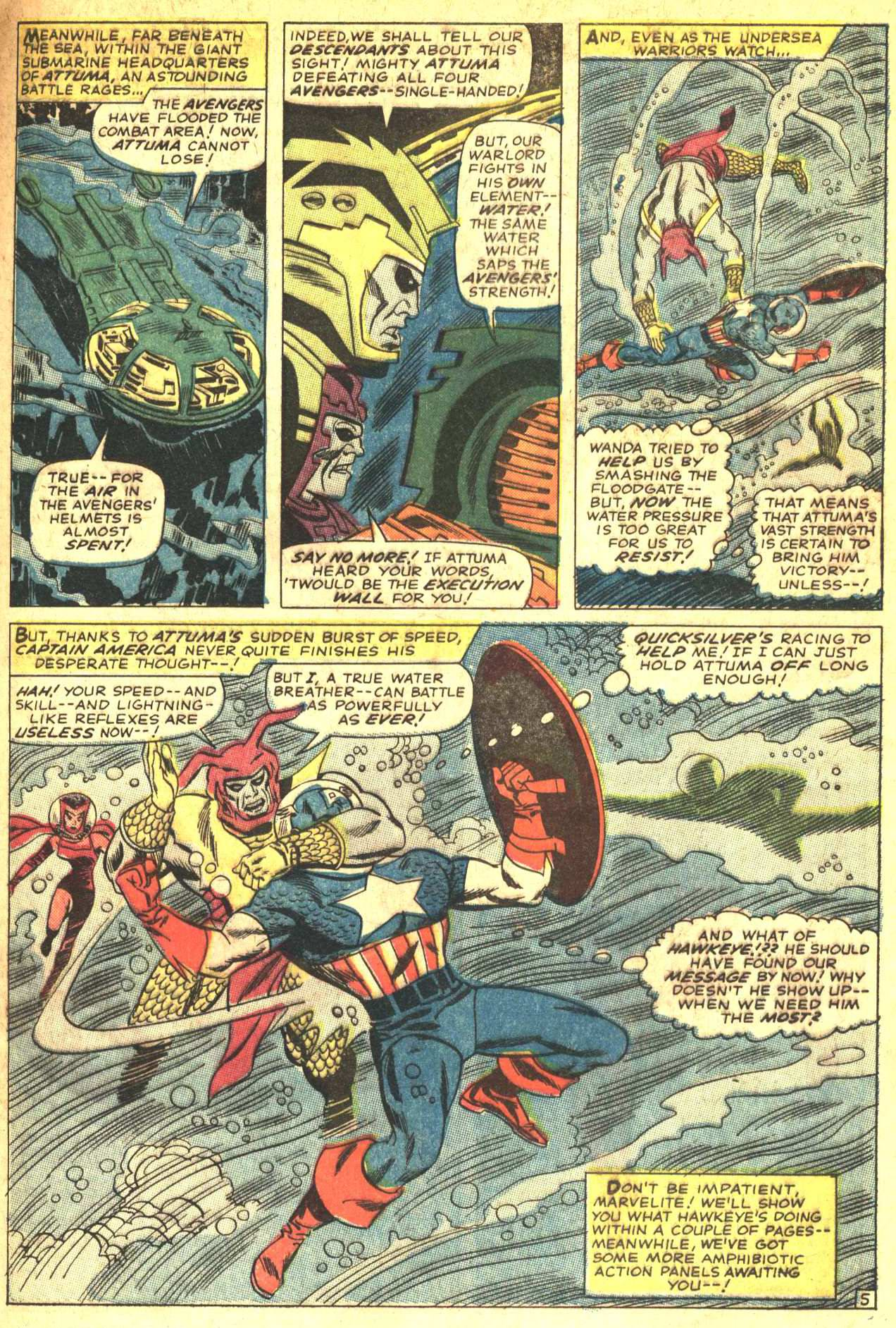 The Avengers (1963) 27 Page 6