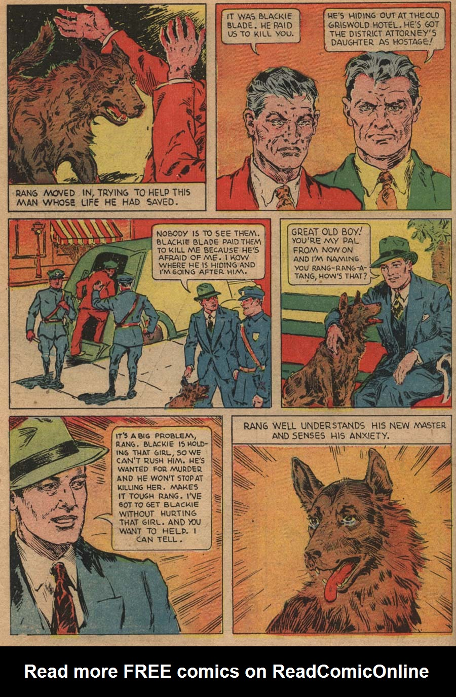 Blue Ribbon Comics (1939) issue 1 - Page 6