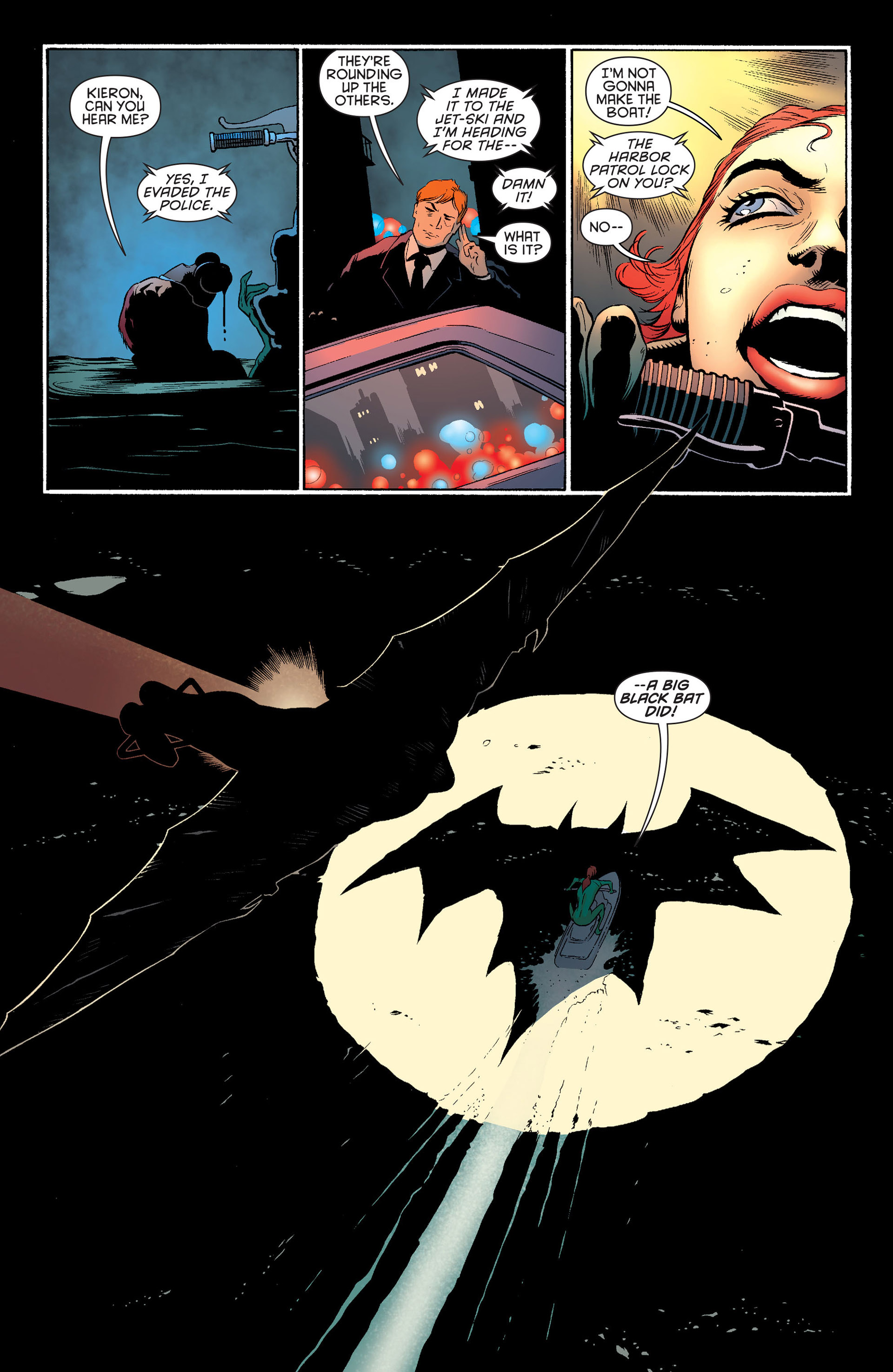 Read online Batman and Robin (2011) comic -  Issue #24 - Batman and Two-Face - 20