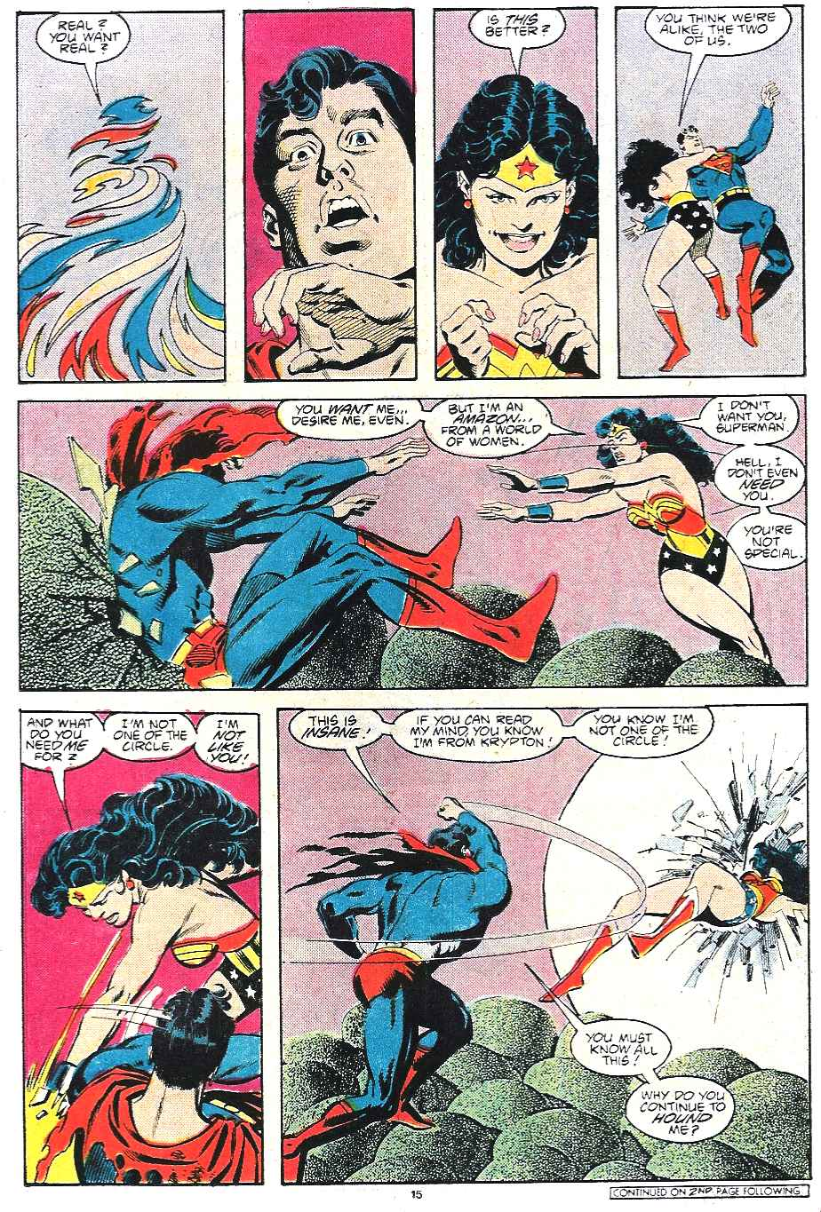 Read online Adventures of Superman (1987) comic -  Issue #435 - 16
