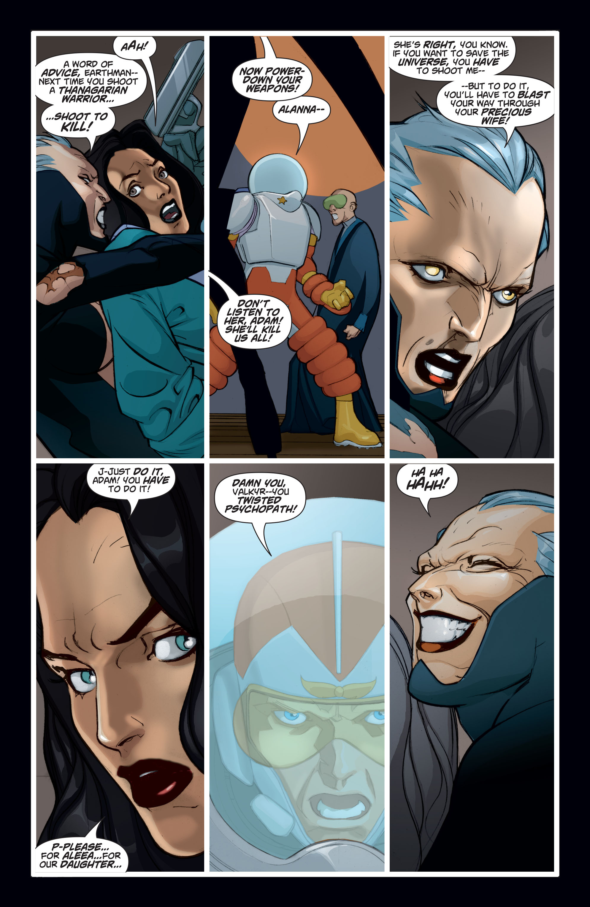 Read online Adam Strange (2004) comic -  Issue #8 - 12