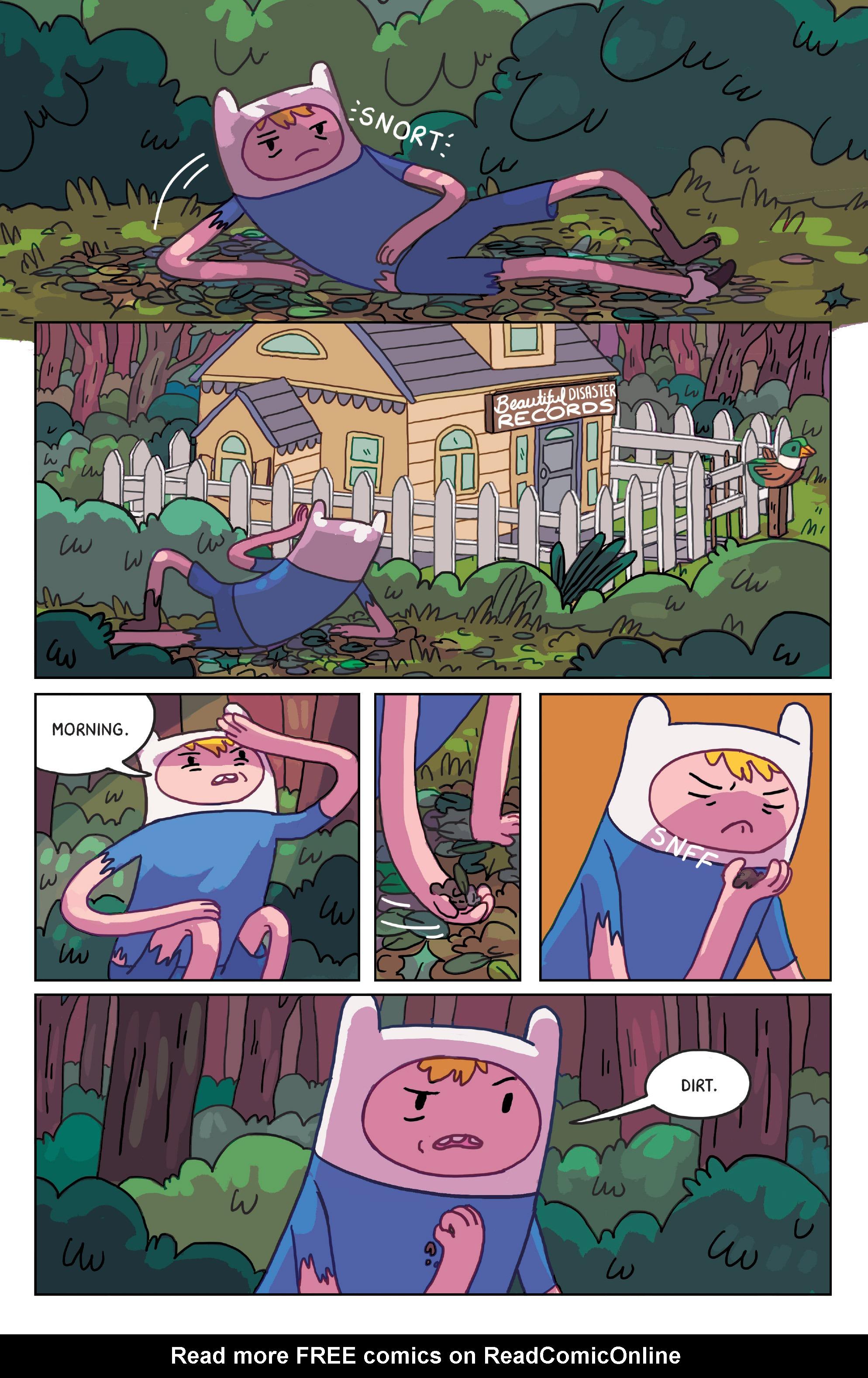 Read online Adventure Time: Marceline Gone Adrift comic -  Issue #4 - 12