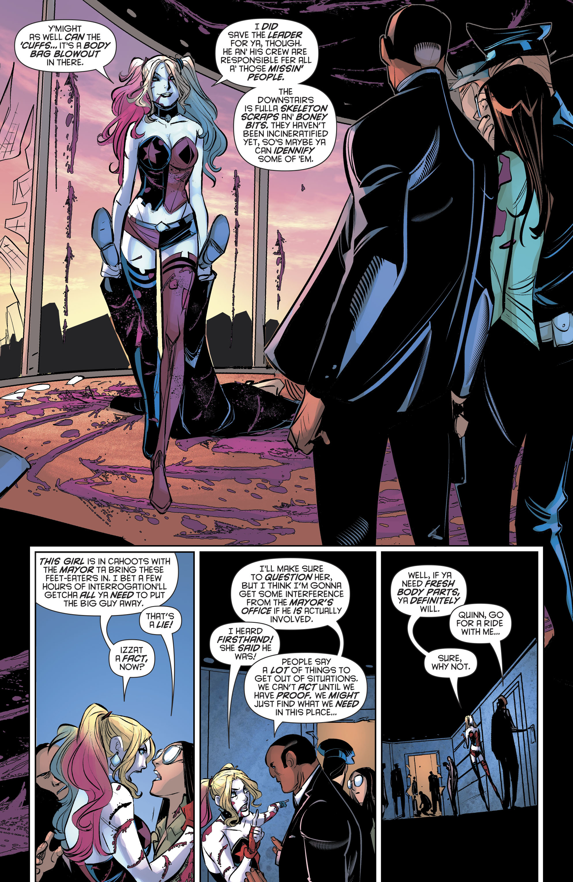 Read online Harley Quinn (2016) comic -  Issue #19 - 16